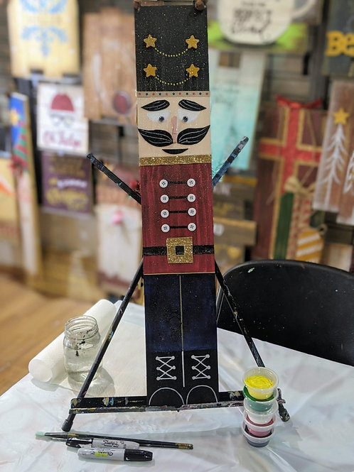 Wooden Project To-Go Kit: Nutcracker