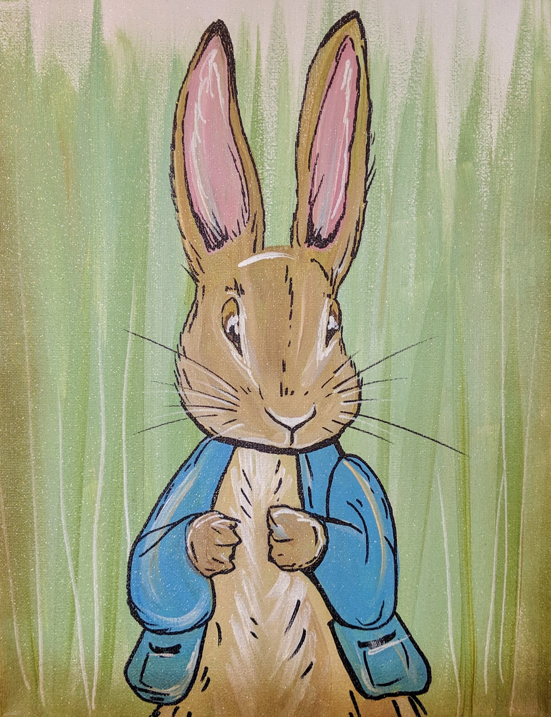 "Peter Rabbit 11"" x 14"""