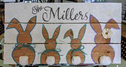 Family Bunnies Pallet