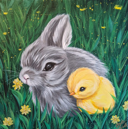 Bunny & Chick