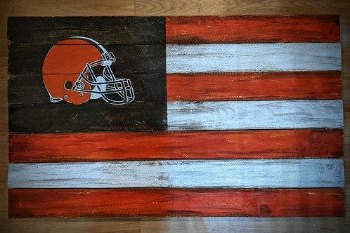 Browns Pallet Flag