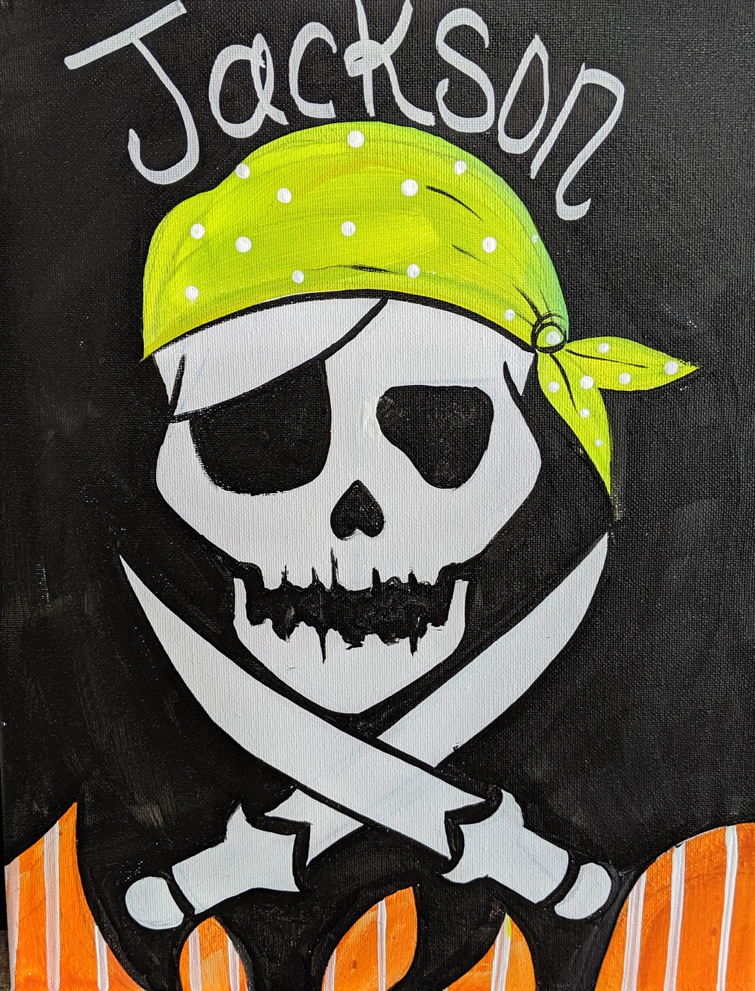 Kids Pirate Skull