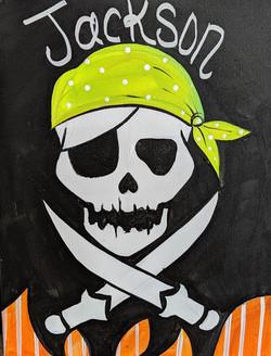Kids Pirate Skull