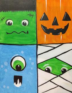 4 Squares 1 Canvas