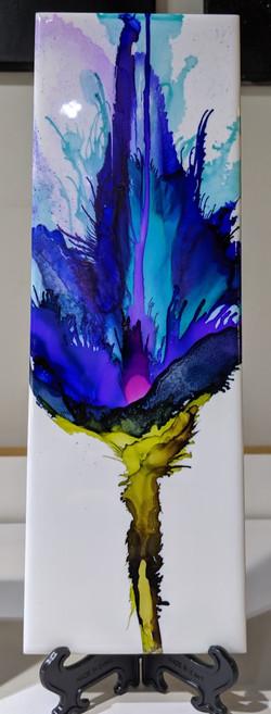 Deep Blue Flower