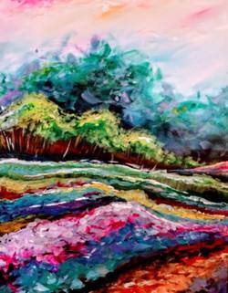 In Full Bloom Landscape