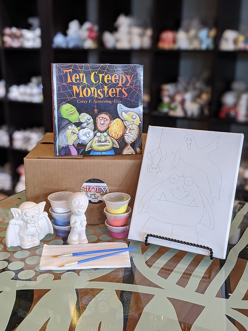StoryART Kit: Ten Creepy Monsters