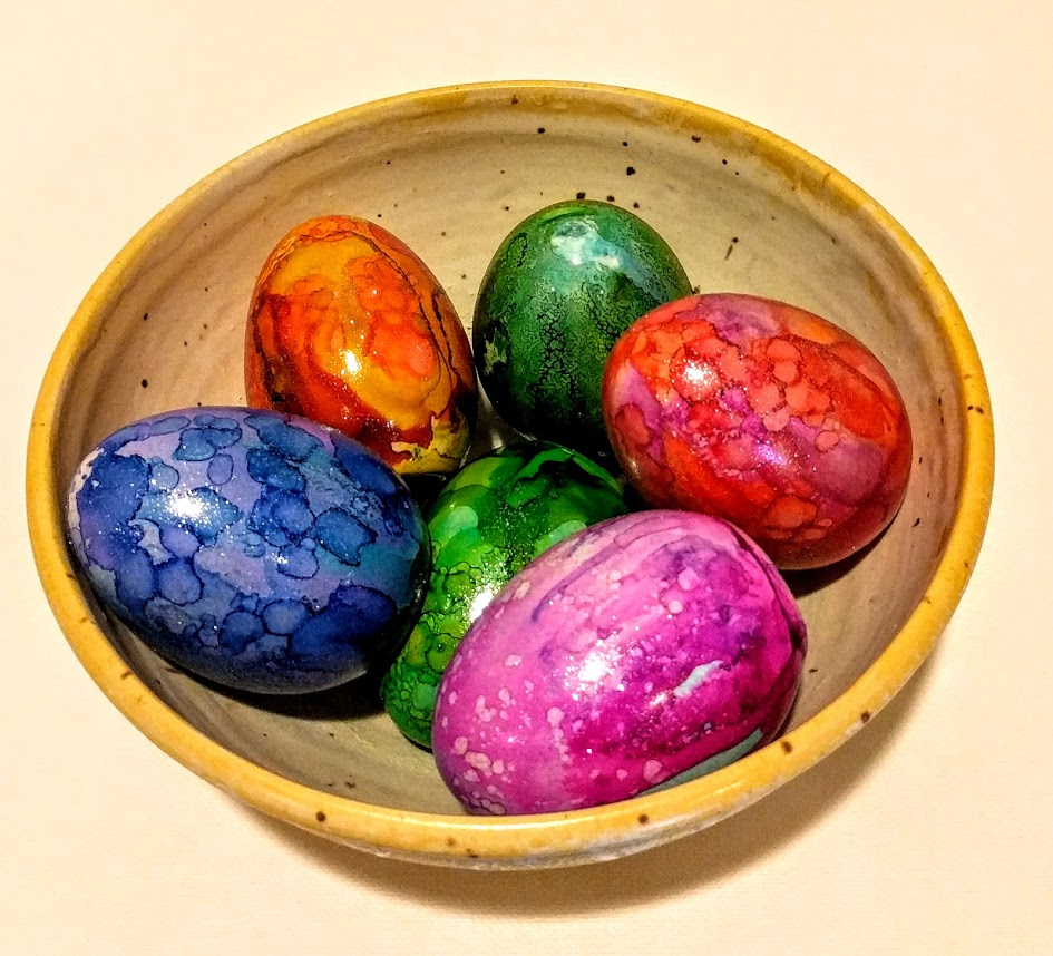 Alc Ink Eggs