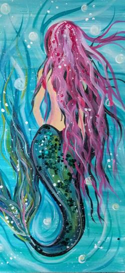 Long Canvas Mermaid