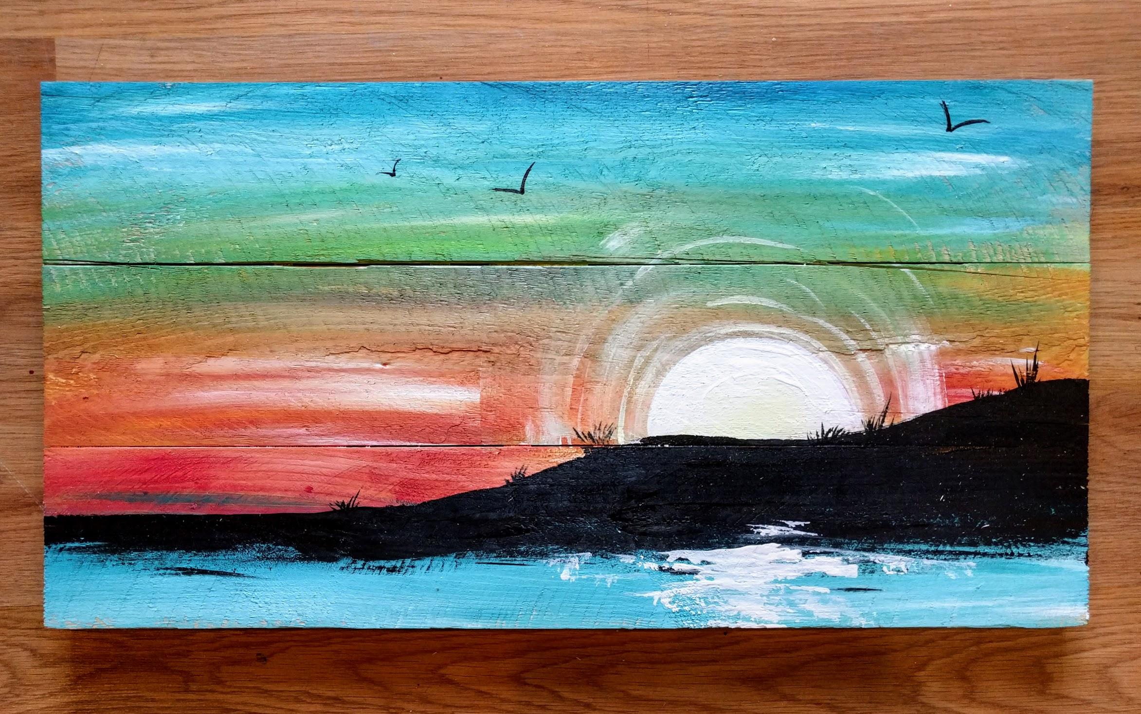 Pallet Sunset