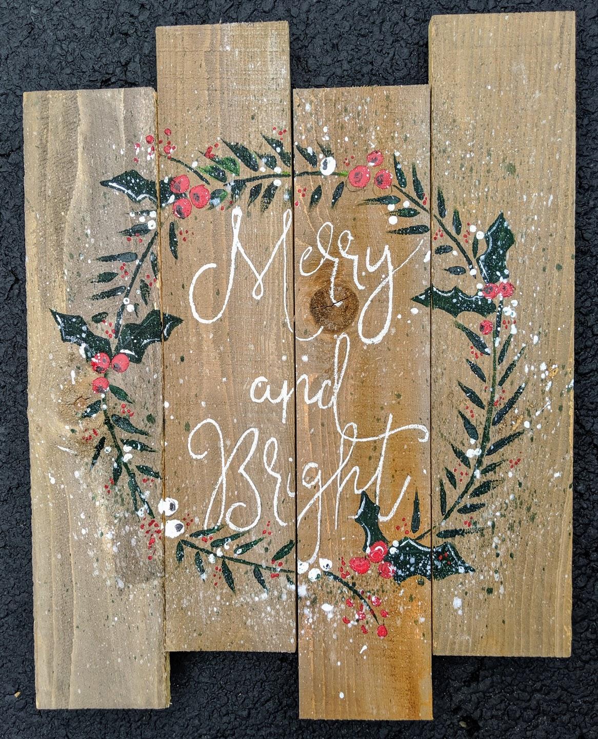 Merry & Bright Pallet