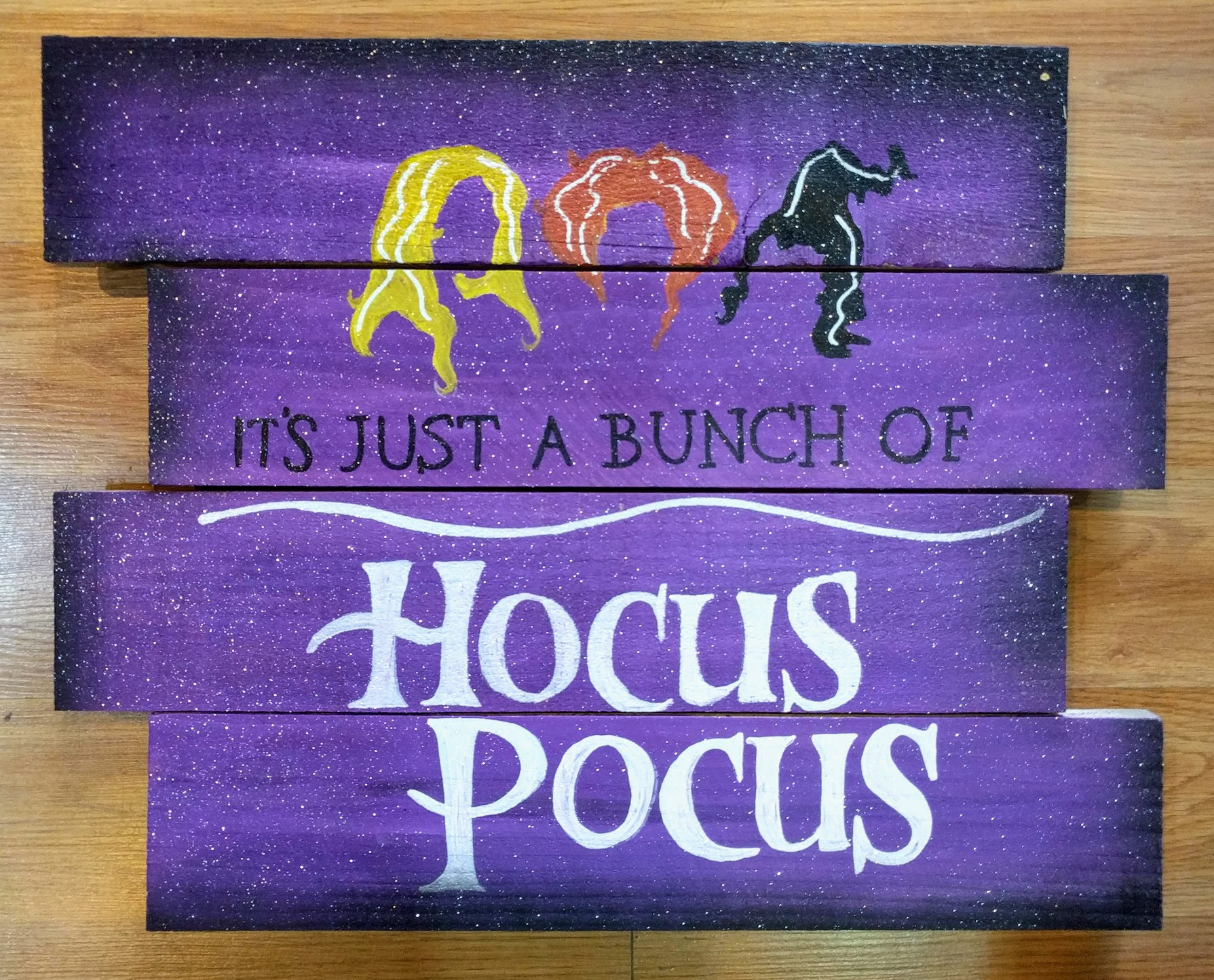 It's Just a Bunch of Hocus Pocus Pallet.