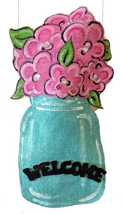 Flowers & Jar