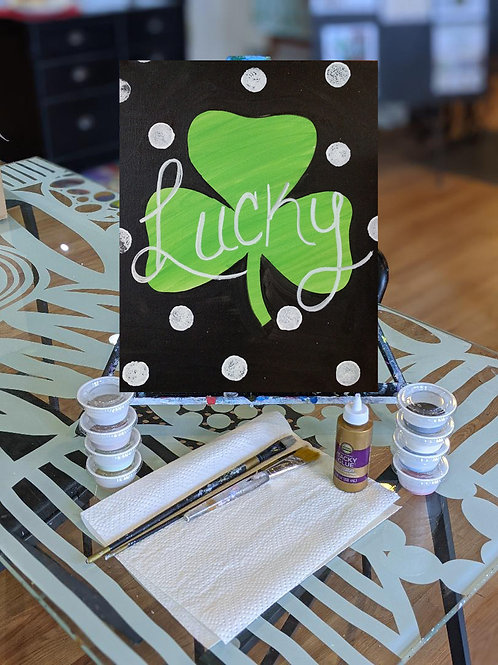 Canvas To-Go Kit: Lucky