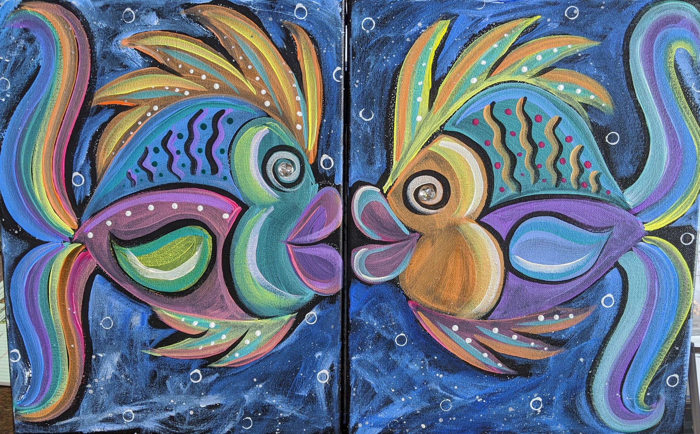 Couple's Kaleidoscope Fish
