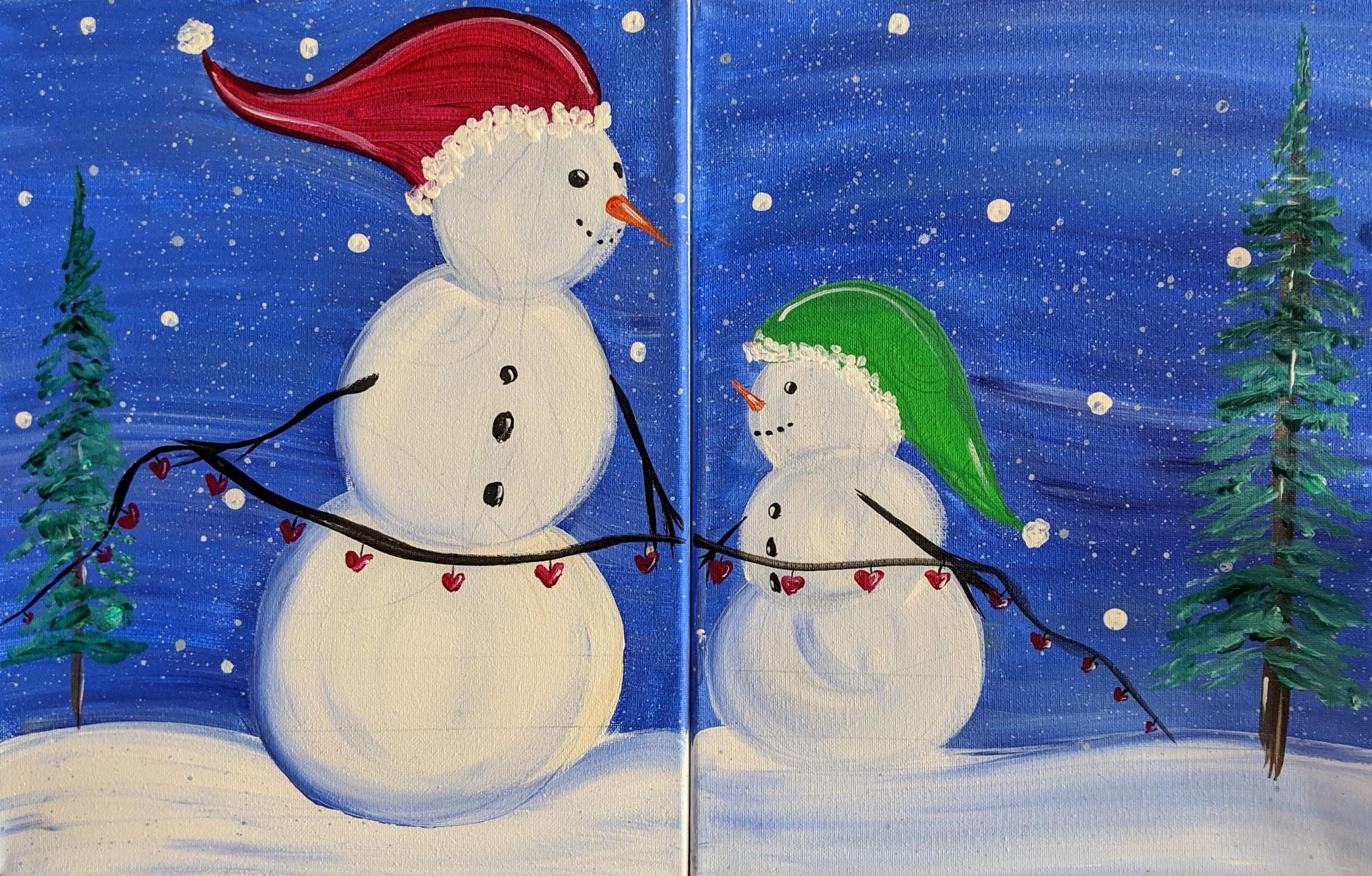 You & Me Snowmen