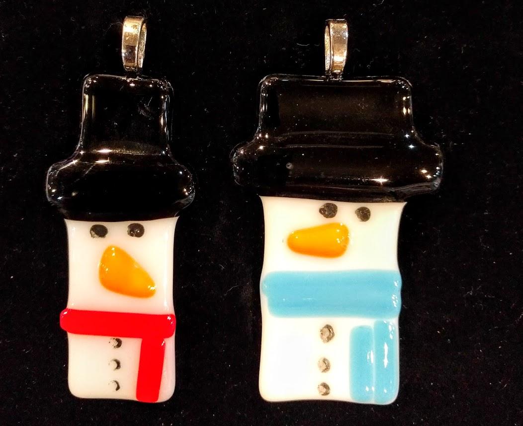 Snowman Pendants