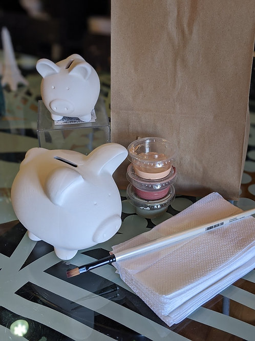 Mommy & Me Piggy Banks Ceramic Combo (Set of 2)