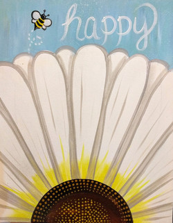 Bee Happy Daisy