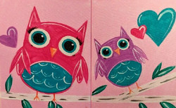 Mommy & Me Owls