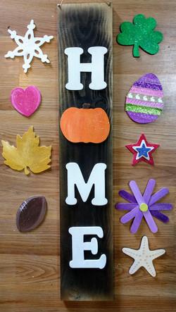 All Seasons HOME Sign