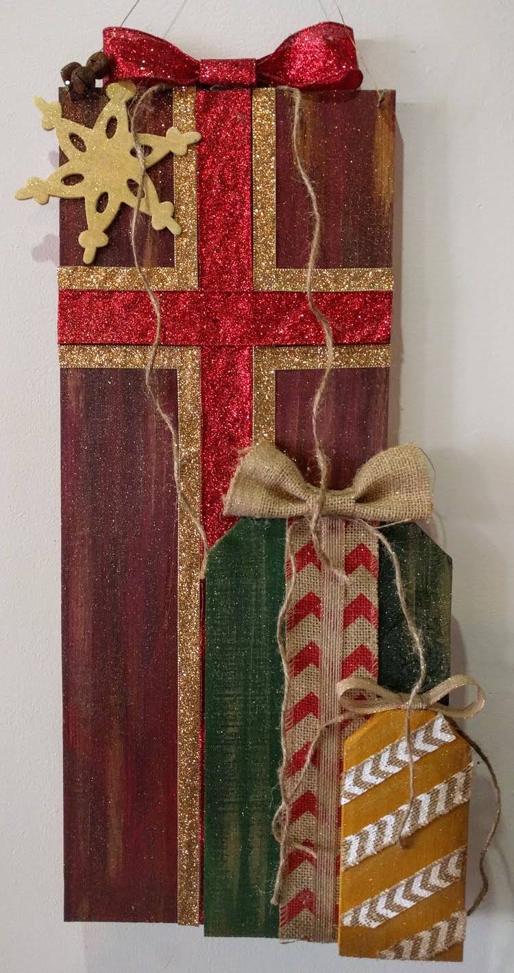 Wooden Christmas Presents