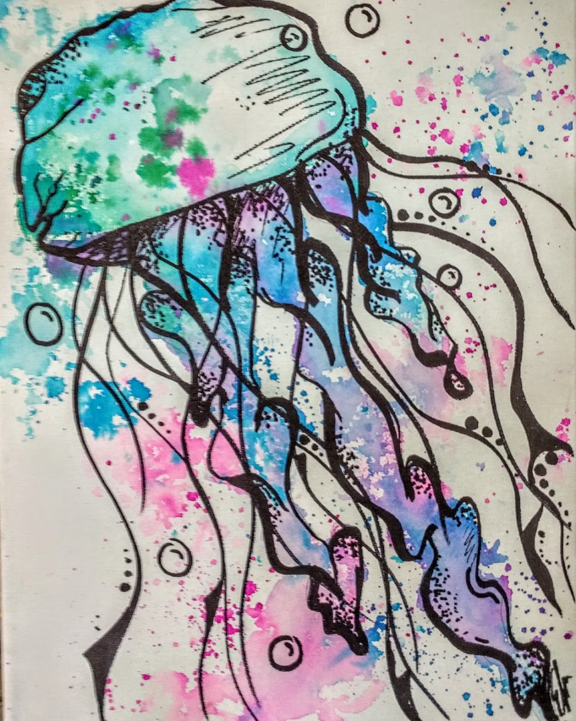 Watercolor Jelly