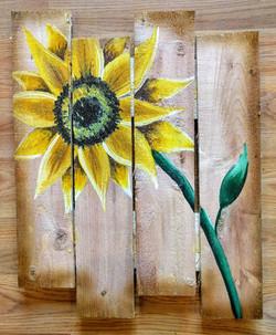 Pallet Sunflower
