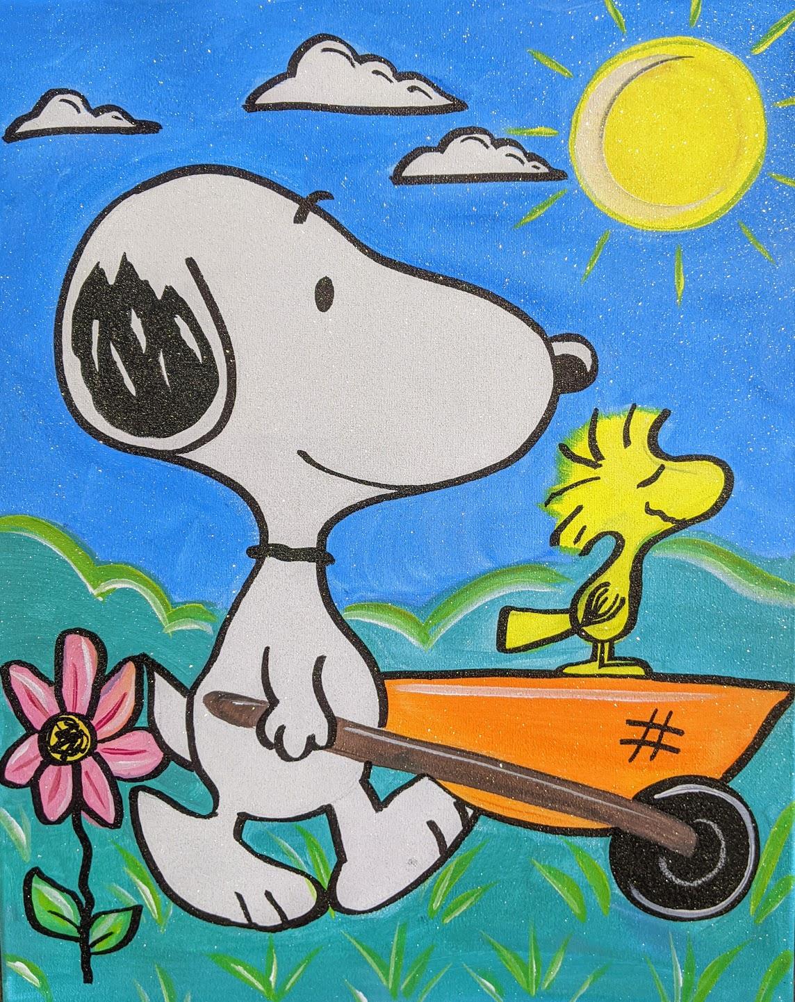 Spring Snoopy