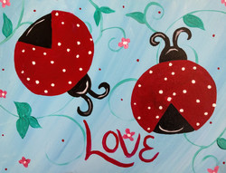 Red Love Bugs