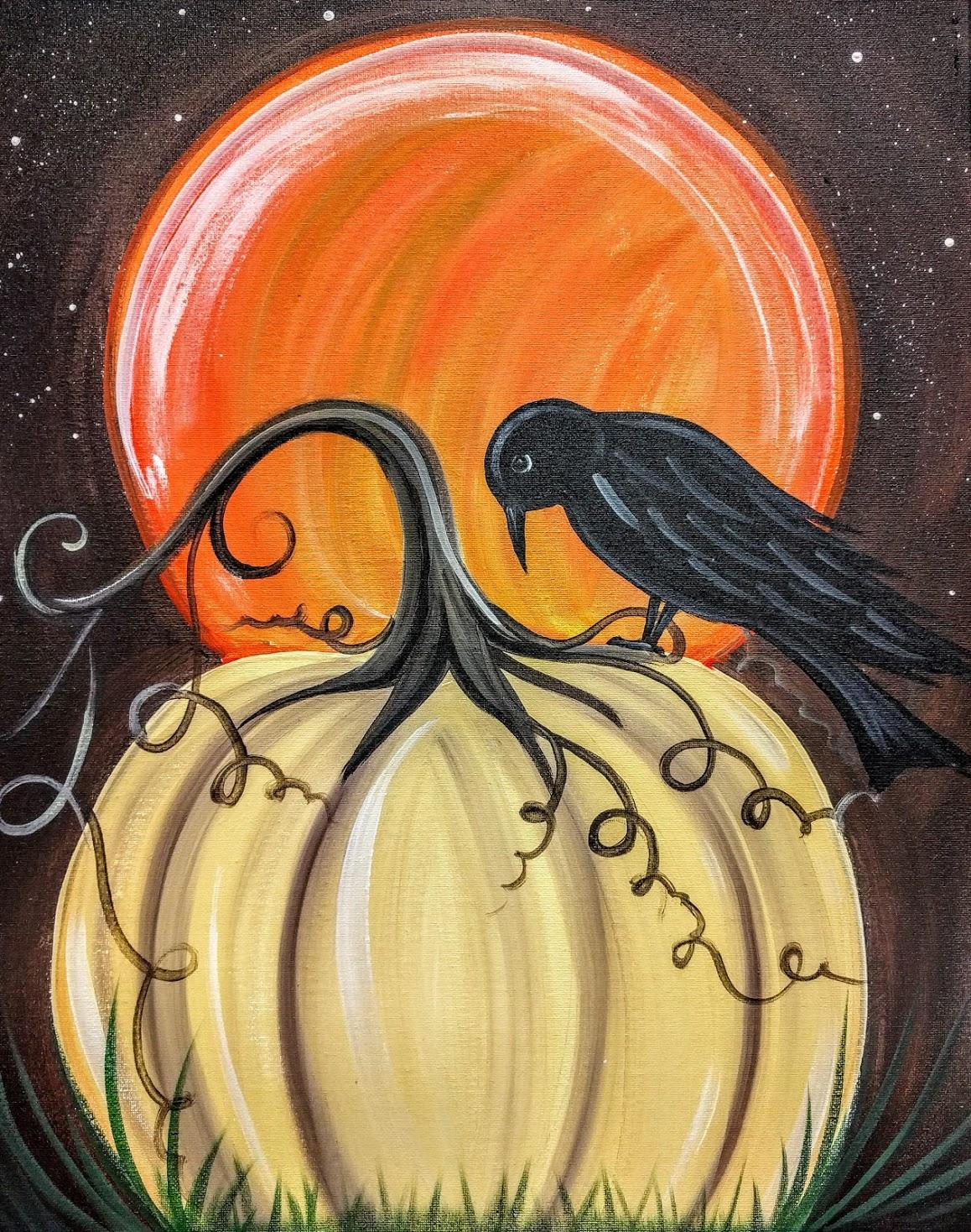 Crow & Pumpkin