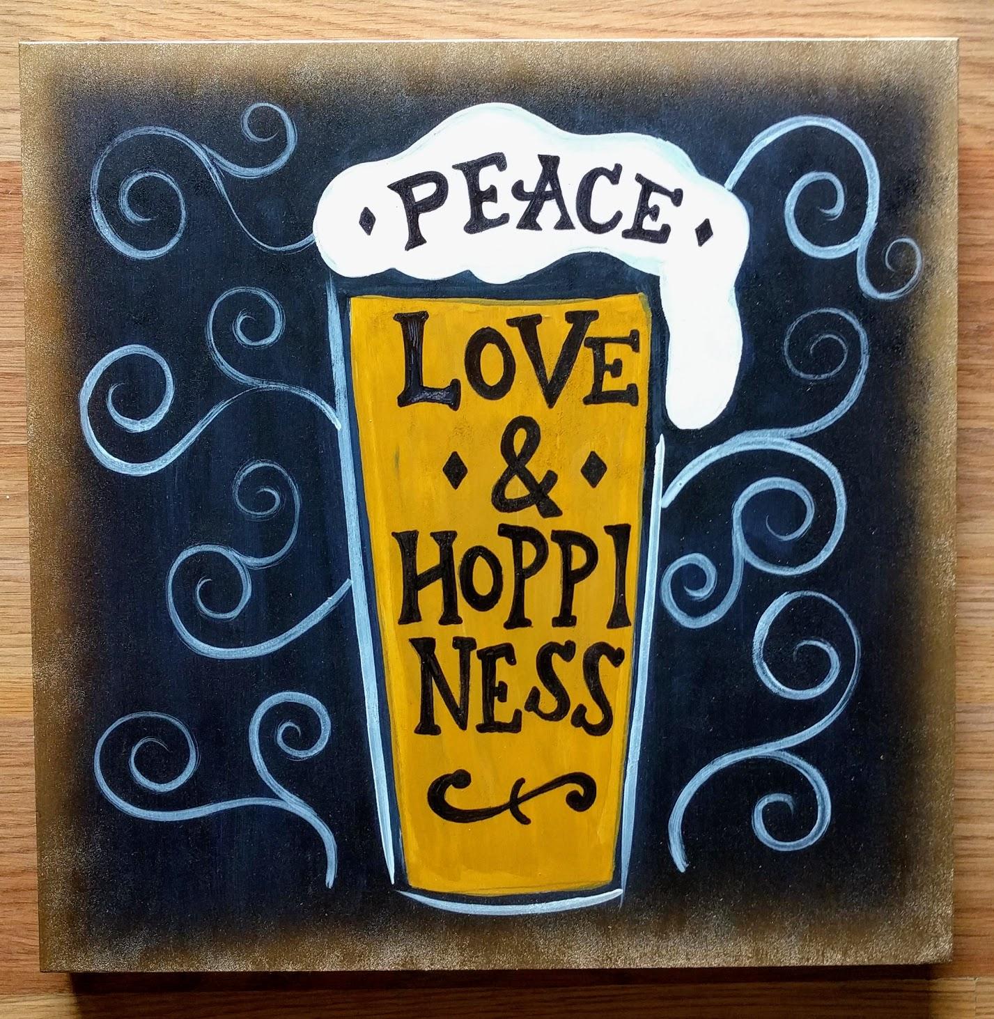Peace, Love & Hoppiness