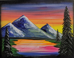Colorful Kids Landscape ($25)