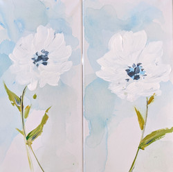 MotherDaughter Whisper Flowers