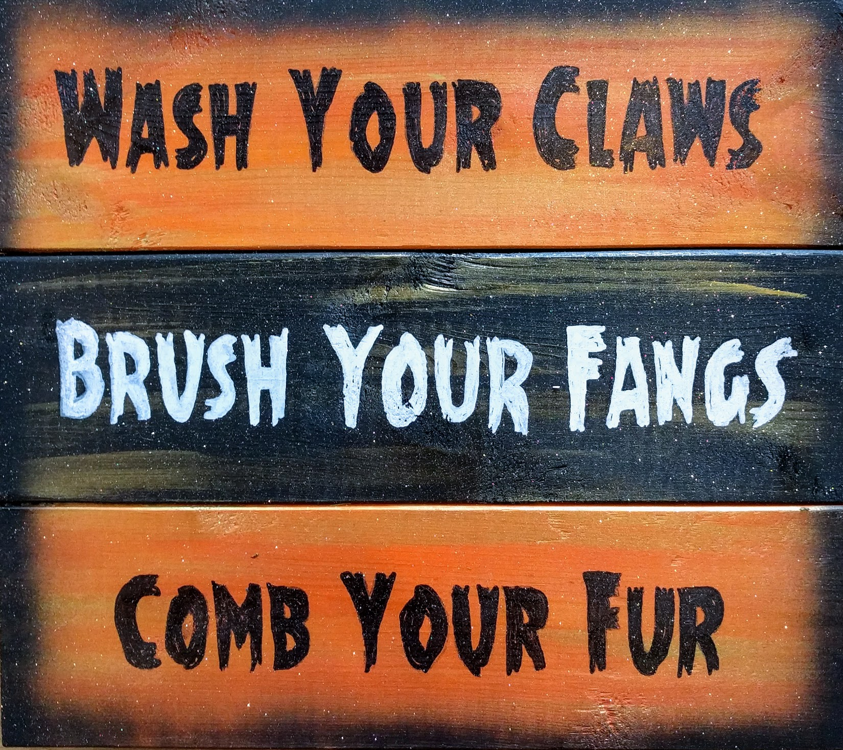 Wash Your Claws
