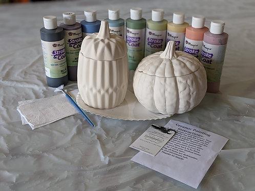 Pumpkin Jars Ceramic Combo