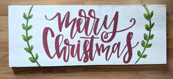 Merry Christmas Board