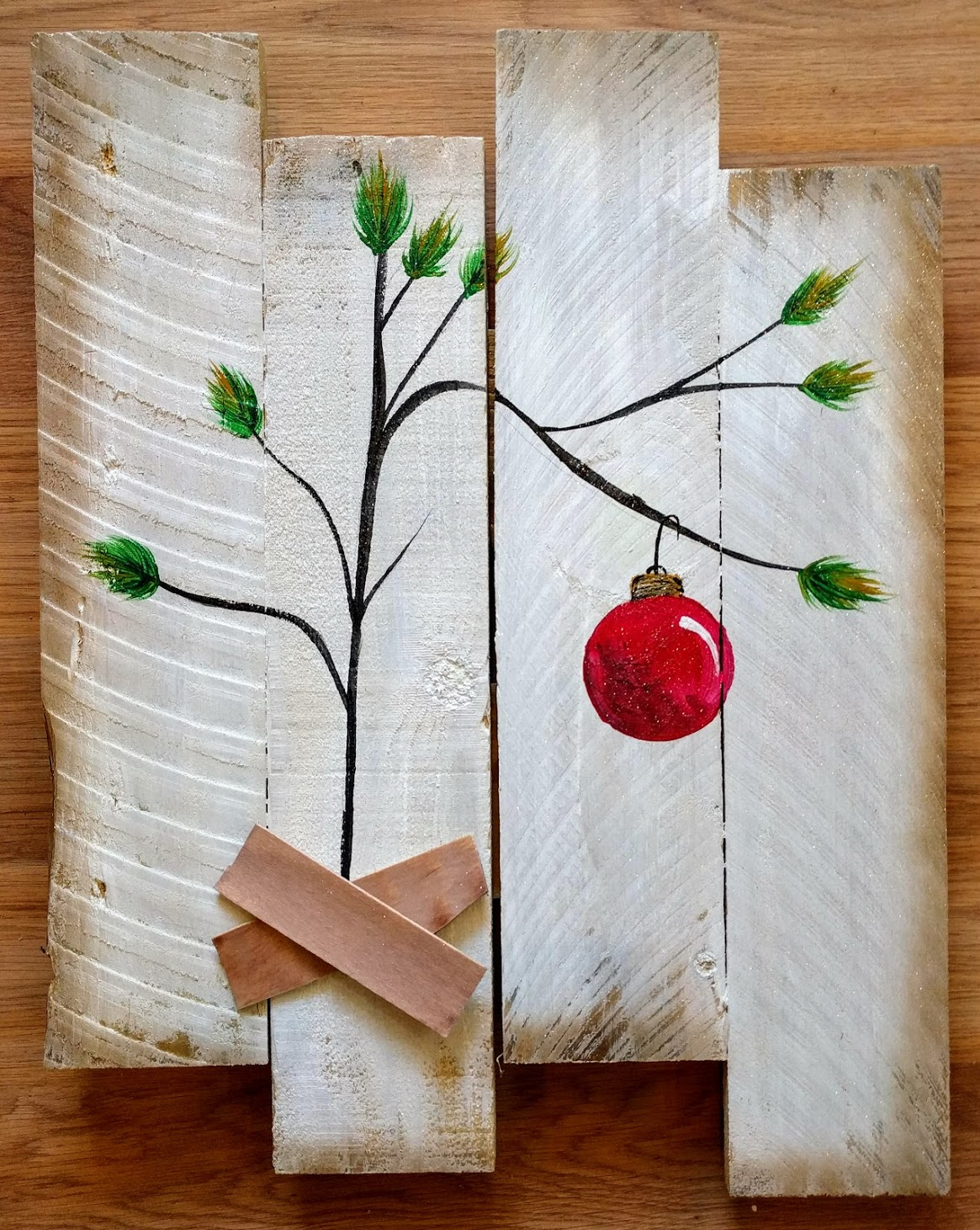 Charlie Brown Tree Pallet