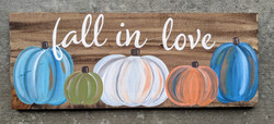 Fall in Love Board