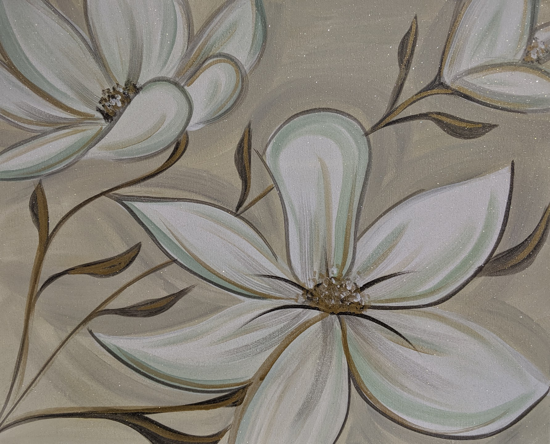 Southern Magnolias with Leaves