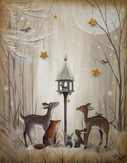Christmas Woodland Creatures