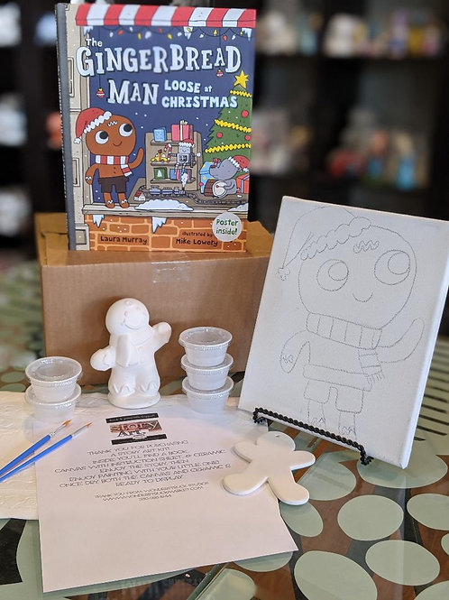 StoryART Kit: The Gingerbread Man Loose at Christmas