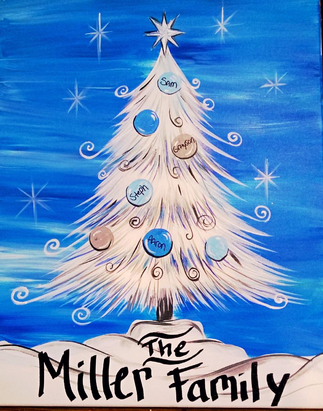 Family Cmas Tree