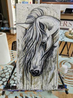 Dreary Horse