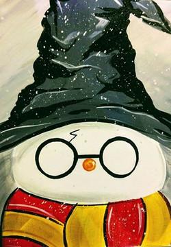 Wizard Snowman Kids