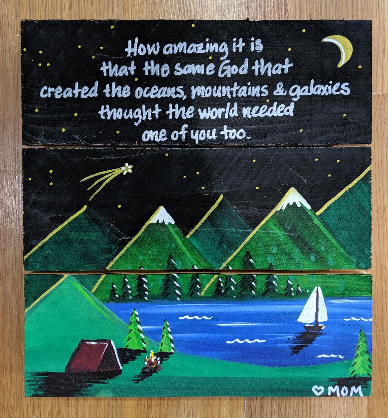 Mountains & Galaxies
