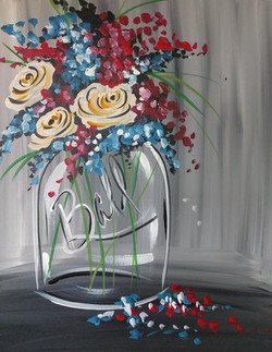 Red White & Blue Bouquet
