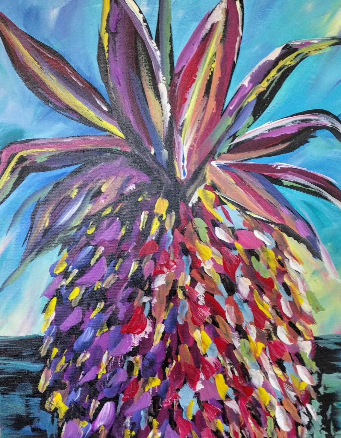 Abstract Pineapple