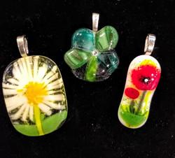Flower Pendants