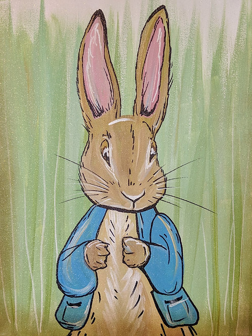 Peter Rabbit Canvas